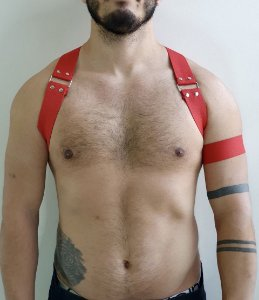 HARNESS RED / HOMBRO