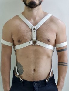 HARNESS ¨Y¨WHITE / BRACELETE