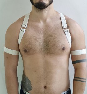 HARNESS WHITE HOMBRO