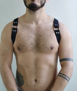 HARNESS BLACK - HOMBRO