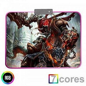 Mouse Pad Gamer RGB Darkside 350x250 KP-S012 Knup