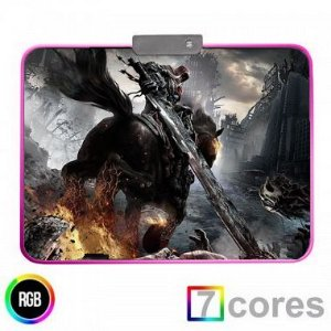 Mouse Pad Gamer RGB Darkside 2 350x250 KP-S012 Knup