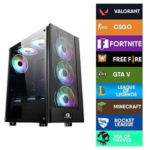 COMPUTADOR CIA CONSTELLATION, INTEL CORE I3 10100F, PLACA MÃE H410M, MEMORIA 16GB DDR4, SSD SATA 480GB, GABINETE CRUISER , FONTE 600W, GTX 750Ti