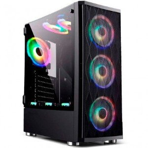 COMPUTADOR CIA UNIVERSE, INTEL CORE I7 10700K, PLACA MÃE H410, MEMORIA 32GB DDR4, SSD NVME 1TB, GABINETE BG-025 , FONTE 600W, RTX 3060 6GB, WATER COOLER RGB 360MM