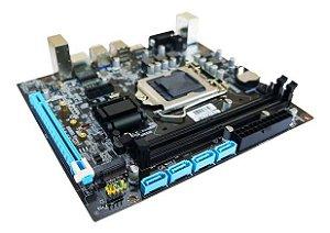 Placa Mãe BrazilPC 1151 H110M mATX DDR4 NVME VGA HDMI USB 3.0 BPC-H110M-TG