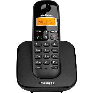 Telefone Sem Fio TS3110 Digital Preto Intelbras