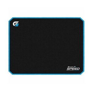 Mouse Pad Gamer Speed FPS 440x350mm Borda Azul MPG-102 Fortrek