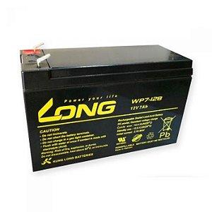 Bateria Selada VRLA 12V 7Ah Long WPS7-12