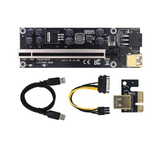 PCI-Express 1x A 16x Riser Card Usb 3.0 VER009C Plus Premium