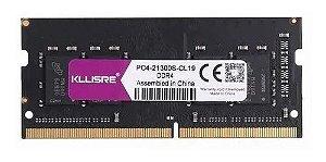 Memoria Notebook DDR4 4GB 2400MHz Kllisre