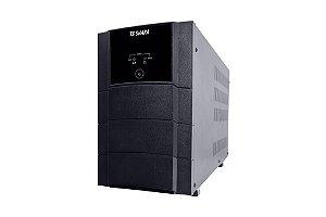 NoBreak Senoidal Interativo 2200VA c/4 Baterias 12V Entrada BIVOLT/Saída Selecionável 110/220V c/Engate TSSHARA