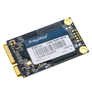 SSD 256GB MSATA Leitura 500Mbp/s xRayDisk