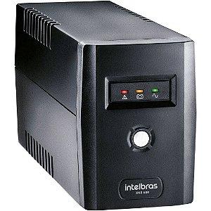 Nobreak INTELBRAS XNB 600VA c/1 Bateria 12V Entrada/Saida 220V Preto