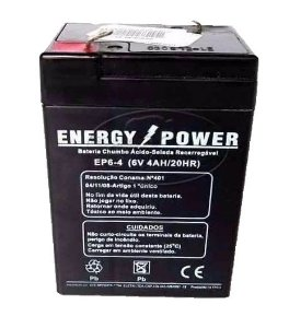 Bateria 6V 4AH ENERGY POWER