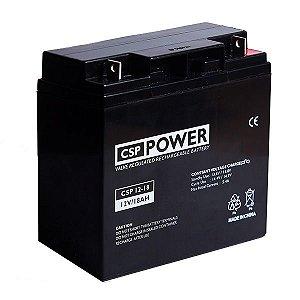 Bateria Selada 12V 18A 12-18 CSP Power