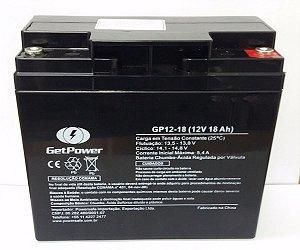Bateria Selada 12V 18A GetPower