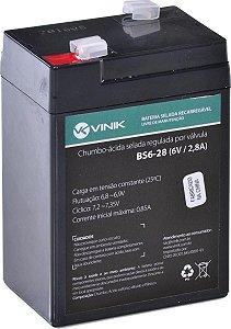 Bateria Selada VRLA 6V 2.8Ah VINIK