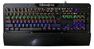 Teclado Mecânico Switch Blue Exbom BK-GX1
