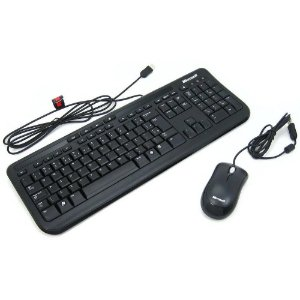 KIT Teclado + Mouse USB Wired 600 Microsoft