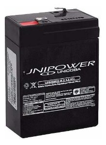 Bateria 6V 4,5Ah UP645SEG Unipower