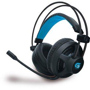 Headset Gamer Com LED Azul H2 Fortrek