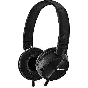 Headphone Stereo HPF-501BK Preto Fortrek