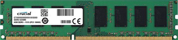 Memoria DDR3 4GB 1333MHz Crucial