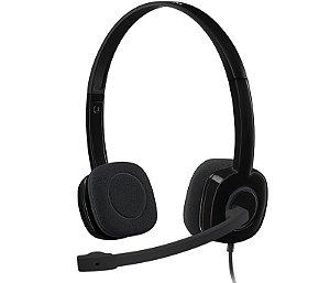 Headset Gamer P2 Preto H151 Logitech