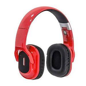 Fone de Ouvido c/Microfone Bluetooth Hiper Musica Profissional HBT-800 InfoKIT