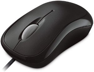 Mouse Basic Microsoft Optico Preto