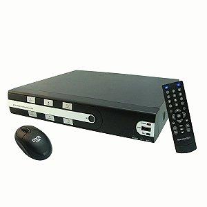 DVR 8 Canais USB 480 x 240F 10/100 Analógico