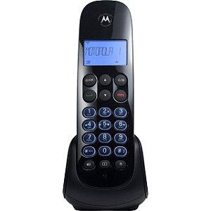 Telefone sem Fio c/ ID e Secretária Eletrônica MOTO750-SE Preto MOTOROLA