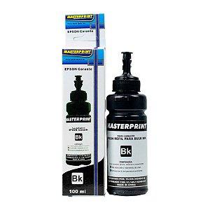 Refil de Tinta para Epson T673120 Preto 100ml MASTERPRINT