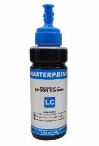 Refil de Tinta para Epson T673120 Light Ciano 100ml MASTERPRINT