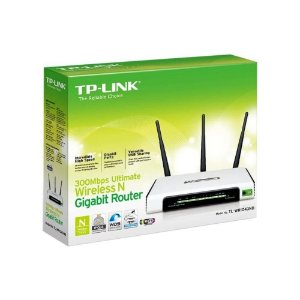 Roteador Wireless 300Mbps Gigabit 3 Antenas TL-WR1043ND TP-Link