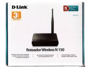 Roteador Repetidor Wireless DIR-610 150Mbps 1 Antena D-Link