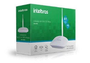 Roteador Wireless 150Mbps IPV6 IWR 1000N Intelbras