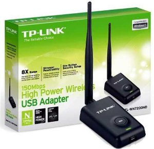 Adaptador Wireless USB 150Mbps 1 Antena TL-WN7200ND TP-Link