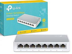 Switch 8 Portas 10/100Mbps TL-SF1008D TP-Link
