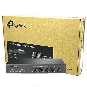 Roteador Load Balance 5 Portas Broadband TL-R480T TP-Link