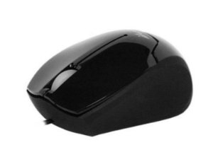 Mouse Notebook USB Retrátil 1000dpi Preto Fortrek