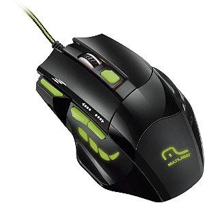 Mouse Gamer 2400dpi 7 Botões MO208 Multilaser