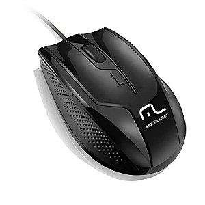 Mouse Profissional 1600dpi 3 Botões Rapid Multilaser