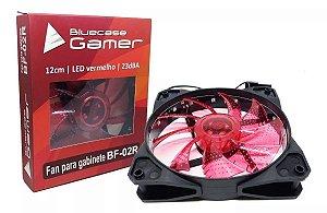 Cooler Gabinete Bluecase BF-02R LED Vermelho