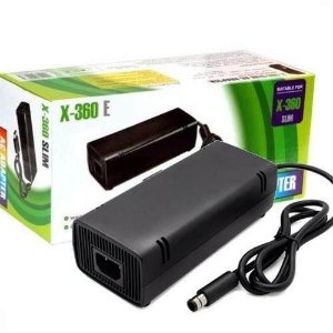 Fonte Xbox 360 Super Slim Compativel Bivolt 110-220v 115w