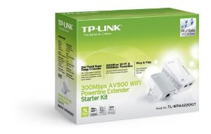 KIT Extensor PowerLine TL-WPA4220 300/500MBPS TP-LINK