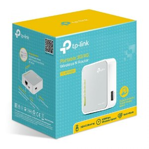 Mini Roteador Portátil Wireless 300Mbps 3G/4G TL-MR3020 TP-Link
