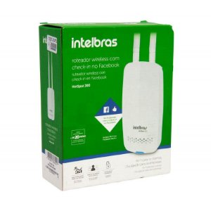 Roteador Wireless Check-in Facebook Hostpost 300 Intelbras