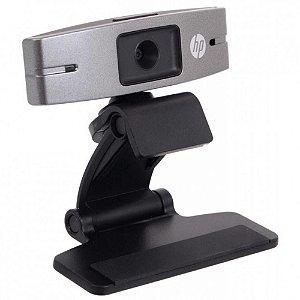 Webcam HP USB 2.0 720p HD2300 c/ Microfone