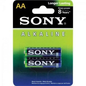 Pilha Alcalina Sony AM3L-B2D AA 2 Unidades